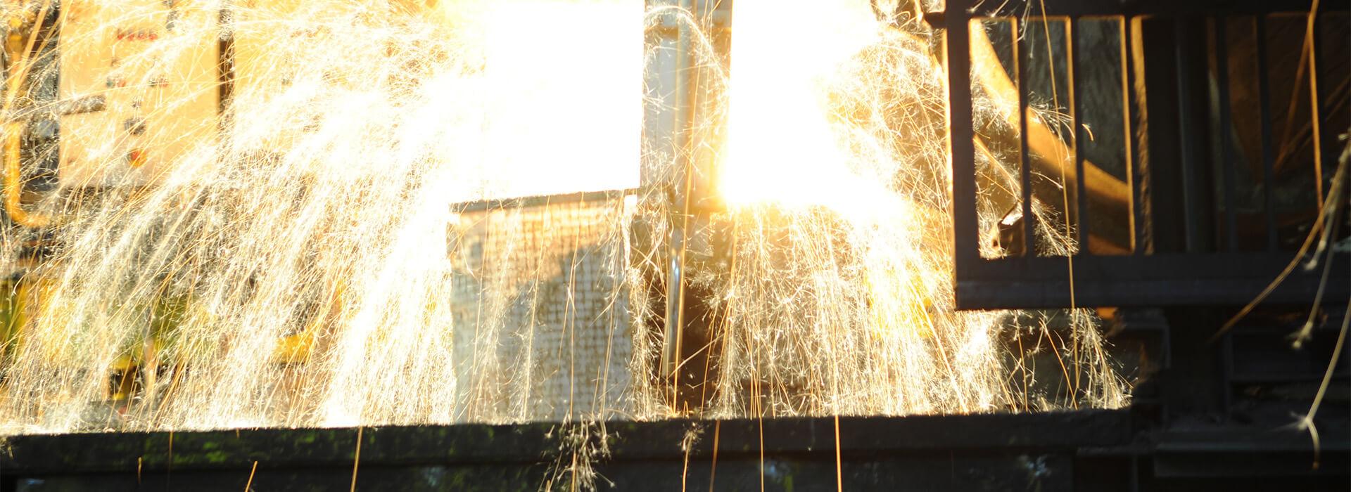 Die Eisengießerei von Reckers